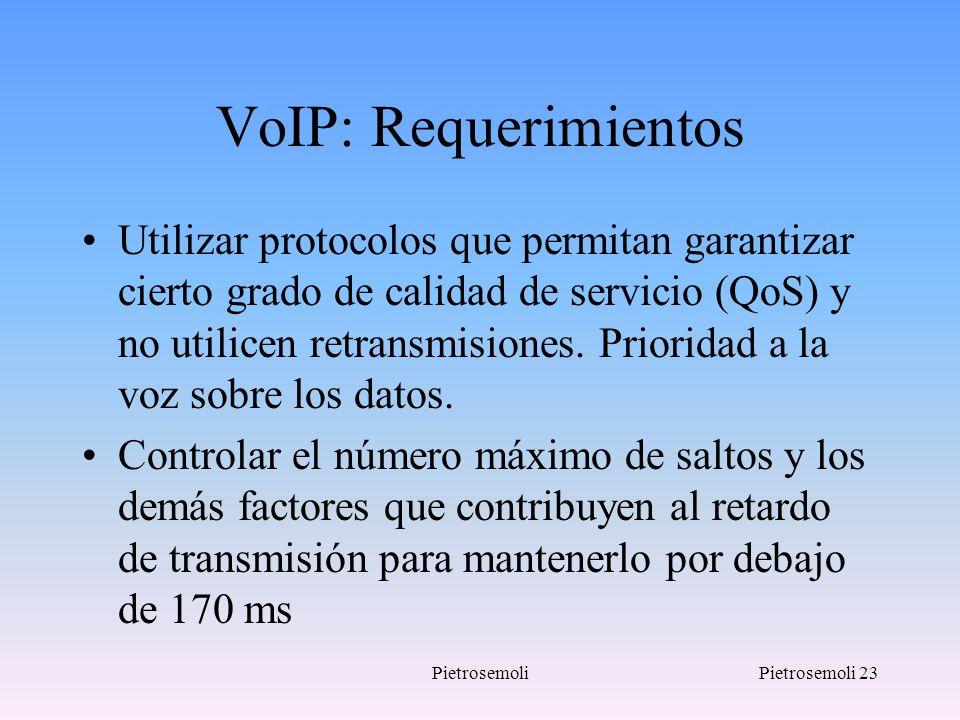 VoIP: Requerimientos