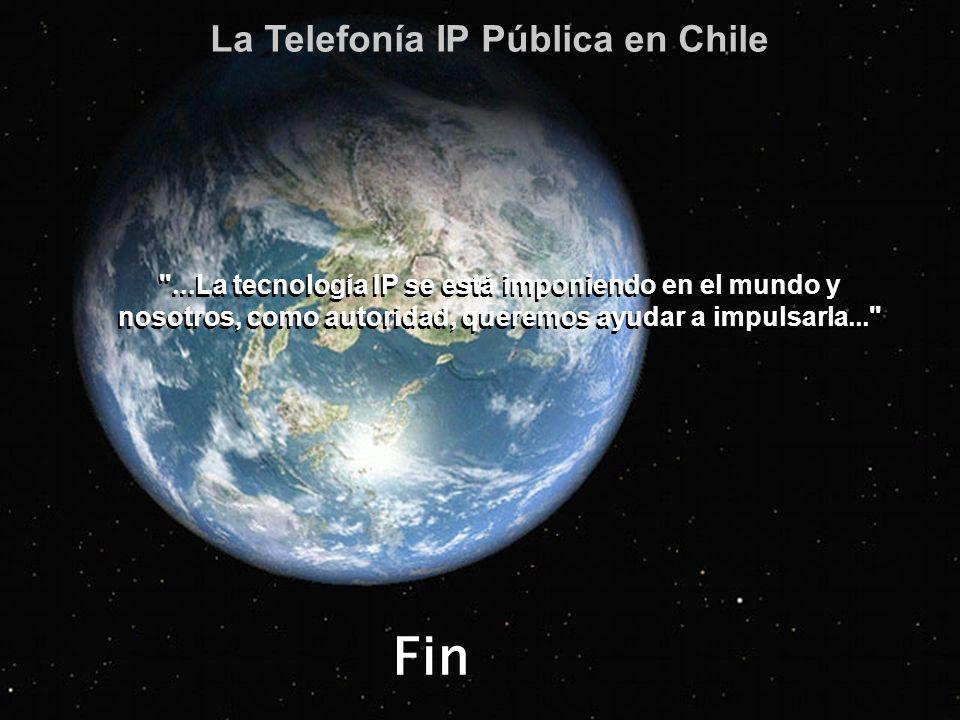 Fin La Telefonía IP Pública en Chile