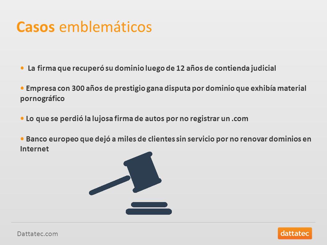 Casos emblemáticos • La firma que recuperó su dominio luego de 12 años de contienda judicial.