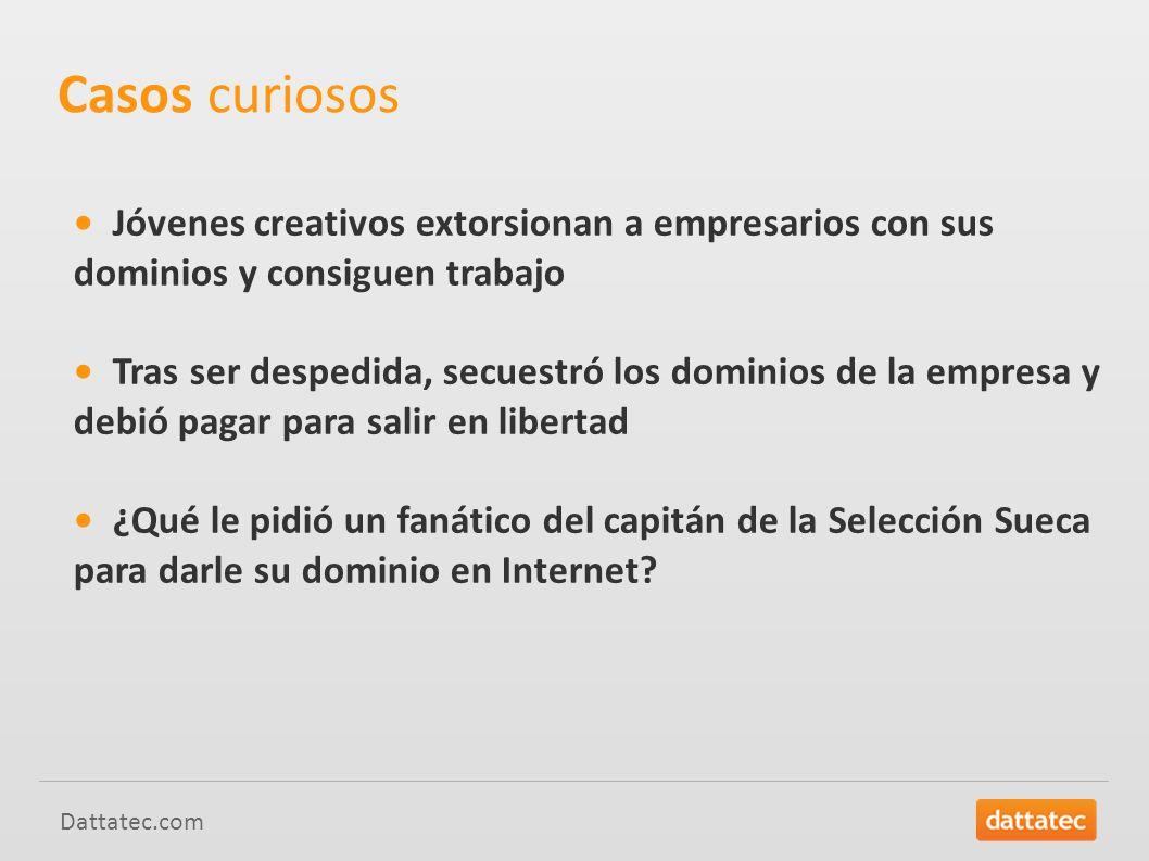 Casos curiosos • Jóvenes creativos extorsionan a empresarios con sus dominios y consiguen trabajo.