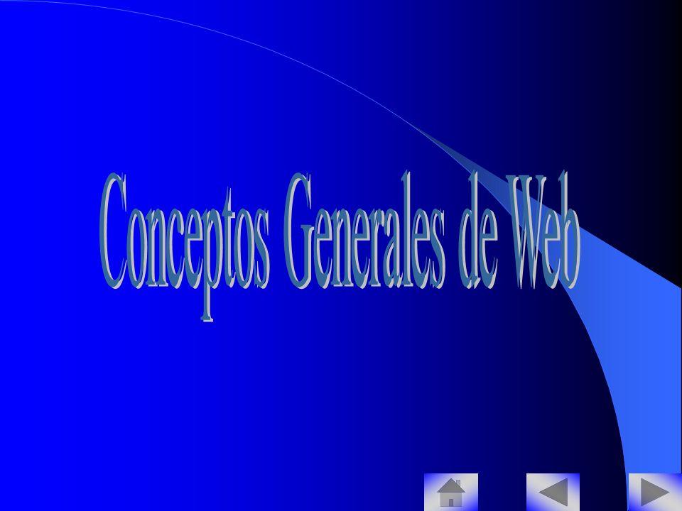 Conceptos Generales de Web