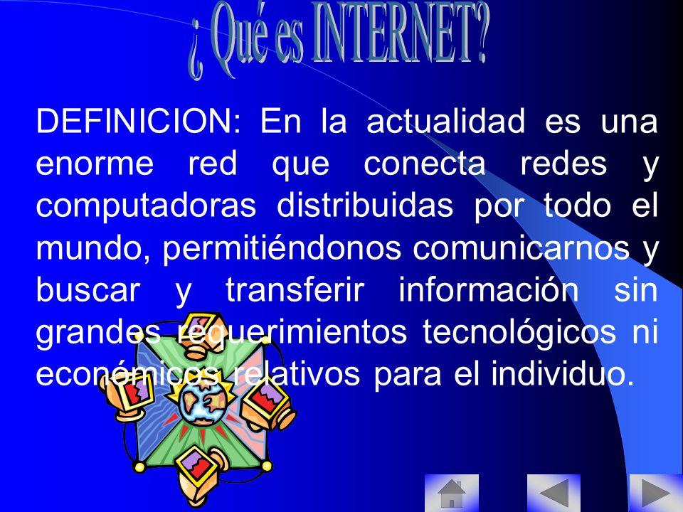 ¿ Qué es INTERNET