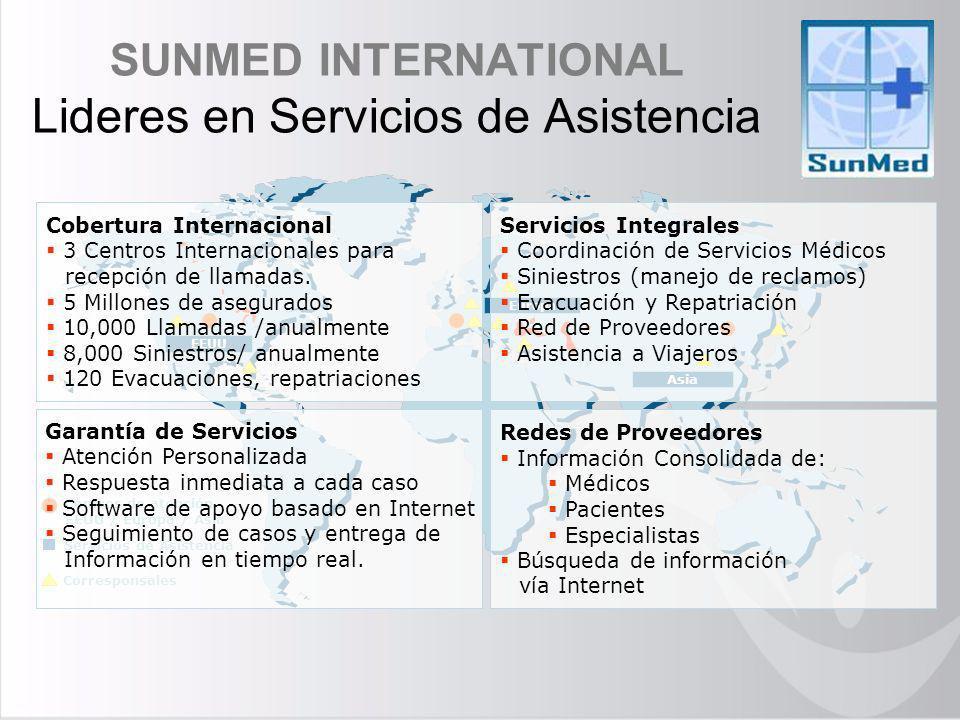 SUNMED INTERNATIONAL Lideres en Servicios de Asistencia