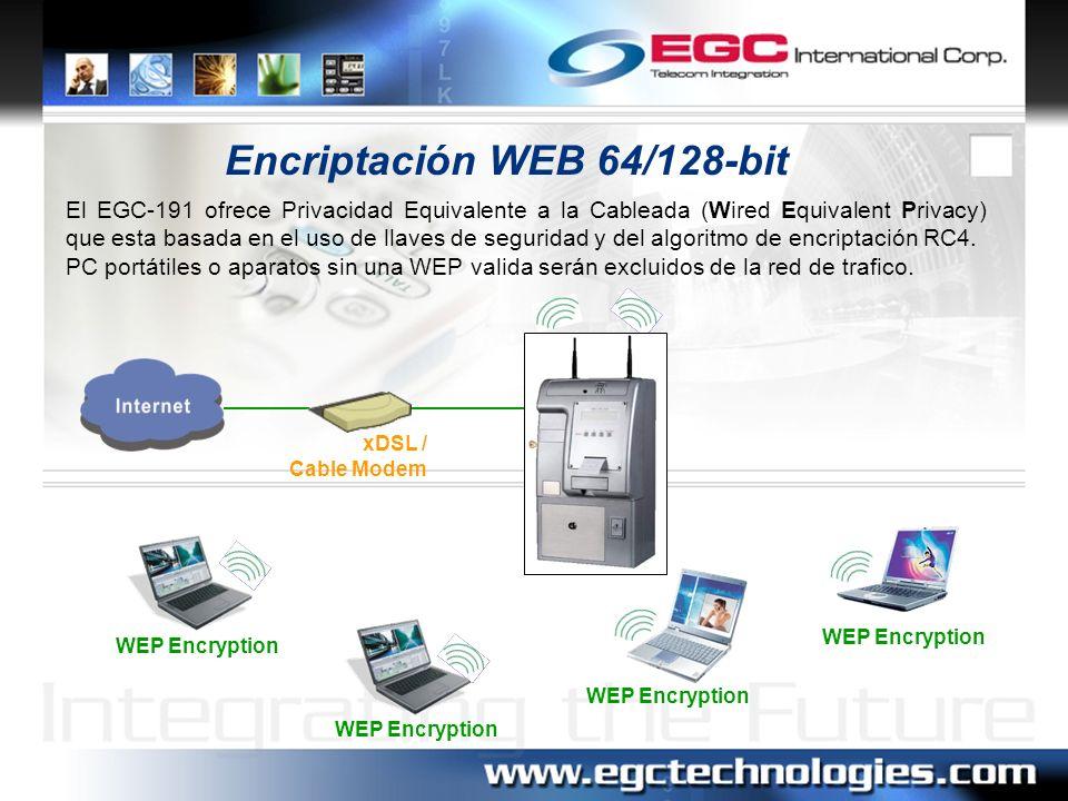 Encriptación WEB 64/128-bit