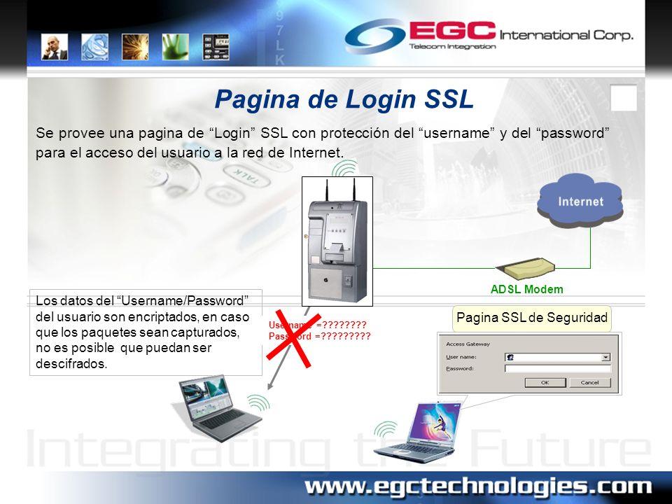 Pagina SSL de Seguridad