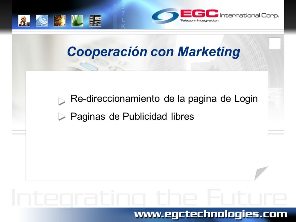 Cooperación con Marketing