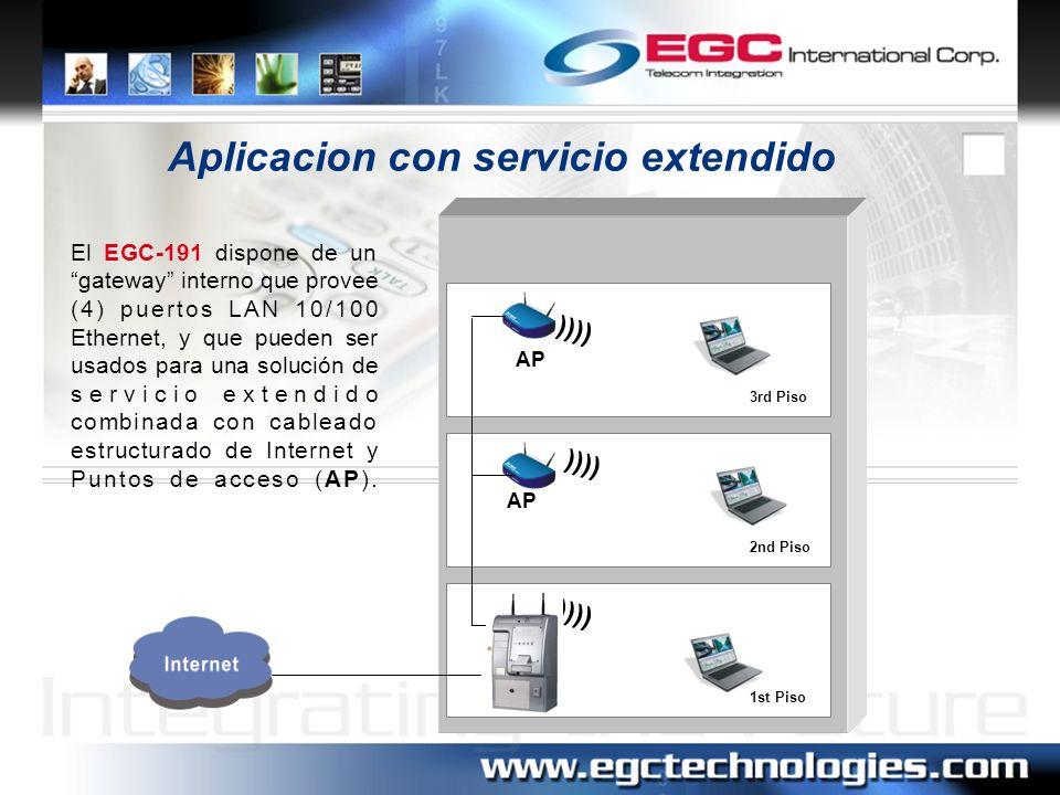Aplicacion con servicio extendido