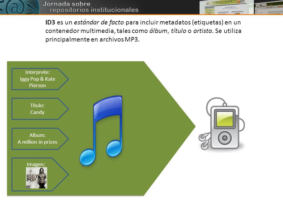 ID3 es un estándar de facto para incluir metadatos (etiquetas) en un contenedor multimedia, tales como álbum, título o artista. Se utiliza principalmente en archivos MP3.
