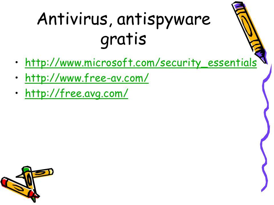 Antivirus, antispyware gratis