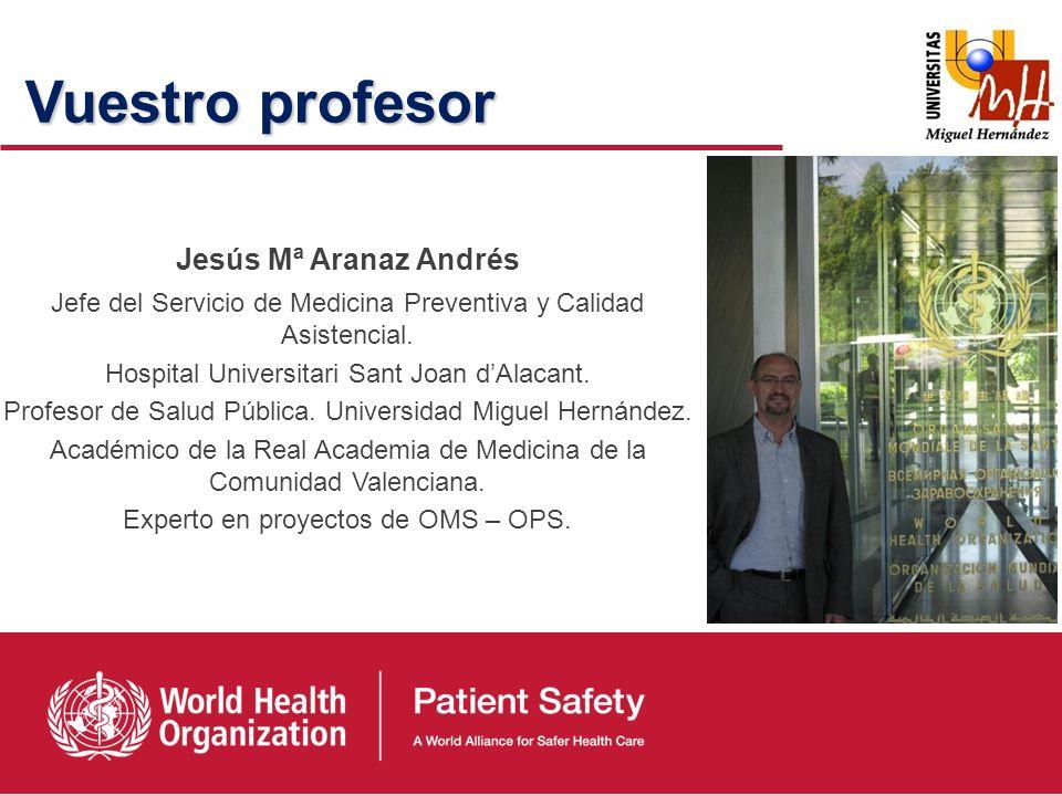 Vuestro profesor Jesús Mª Aranaz Andrés