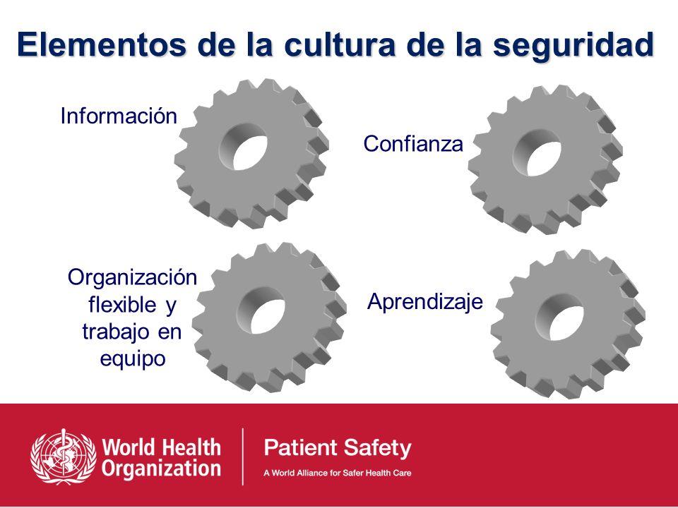 Elementos de la cultura de la seguridad