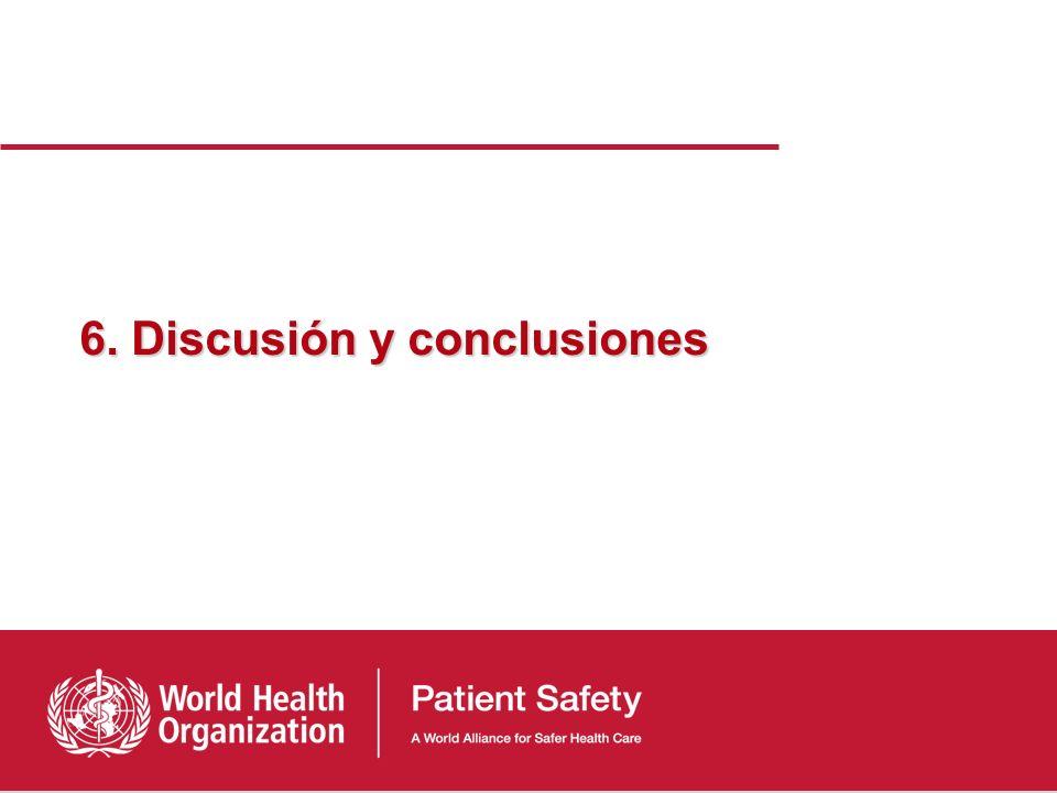 6. Discusión y conclusiones