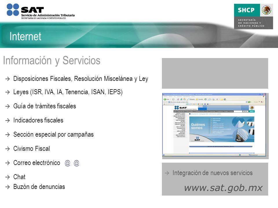 Información y Servicios
