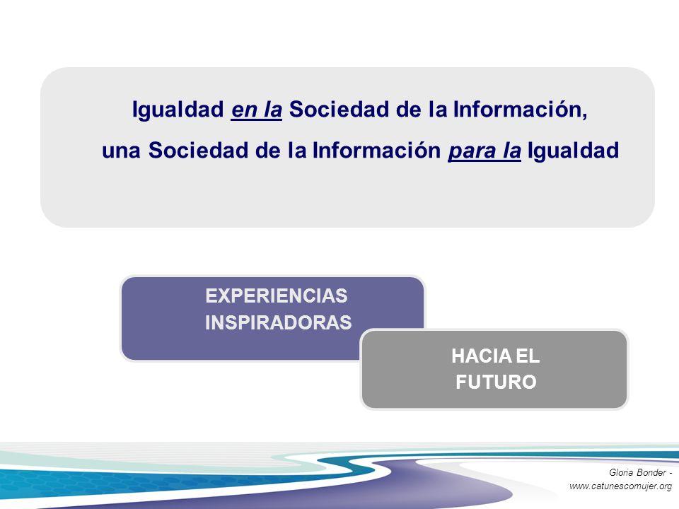 Igualdad en la Sociedad de la Información, una Sociedad de la Información para la Igualdad
