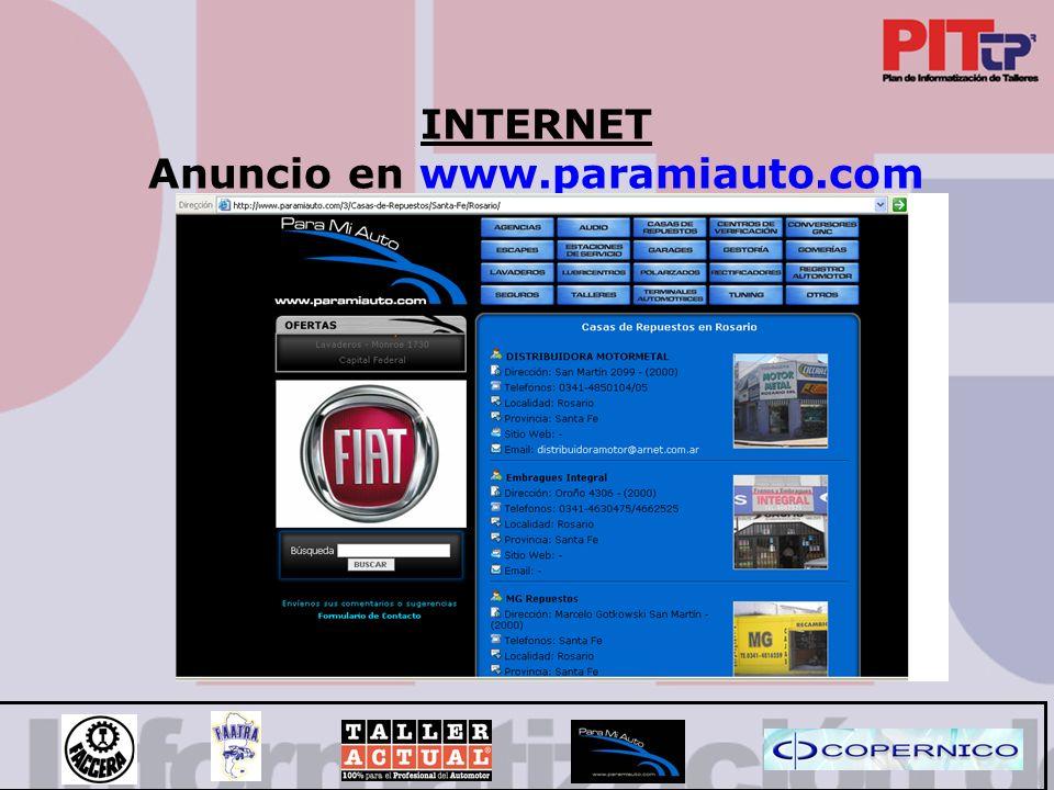 Anuncio en www.paramiauto.com