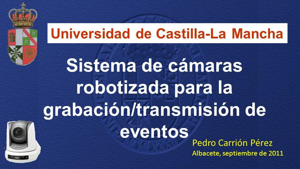 Sistema de cámaras robotizada para la grabación/transmisión de eventos
