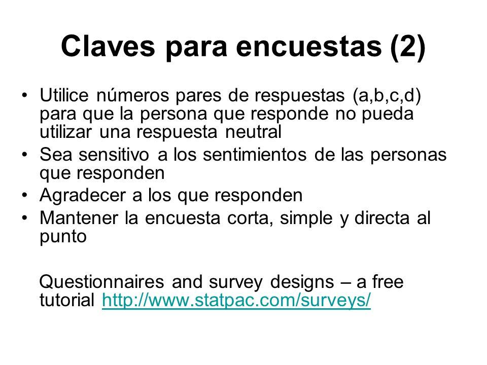 Claves para encuestas (2)