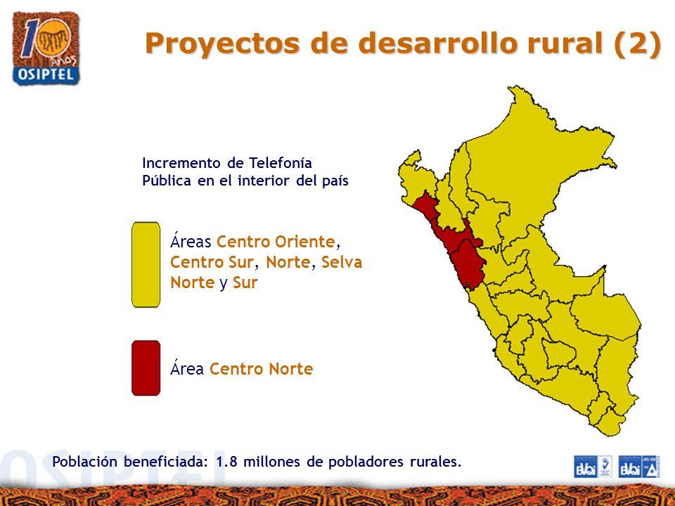 Proyectos de desarrollo rural (2)