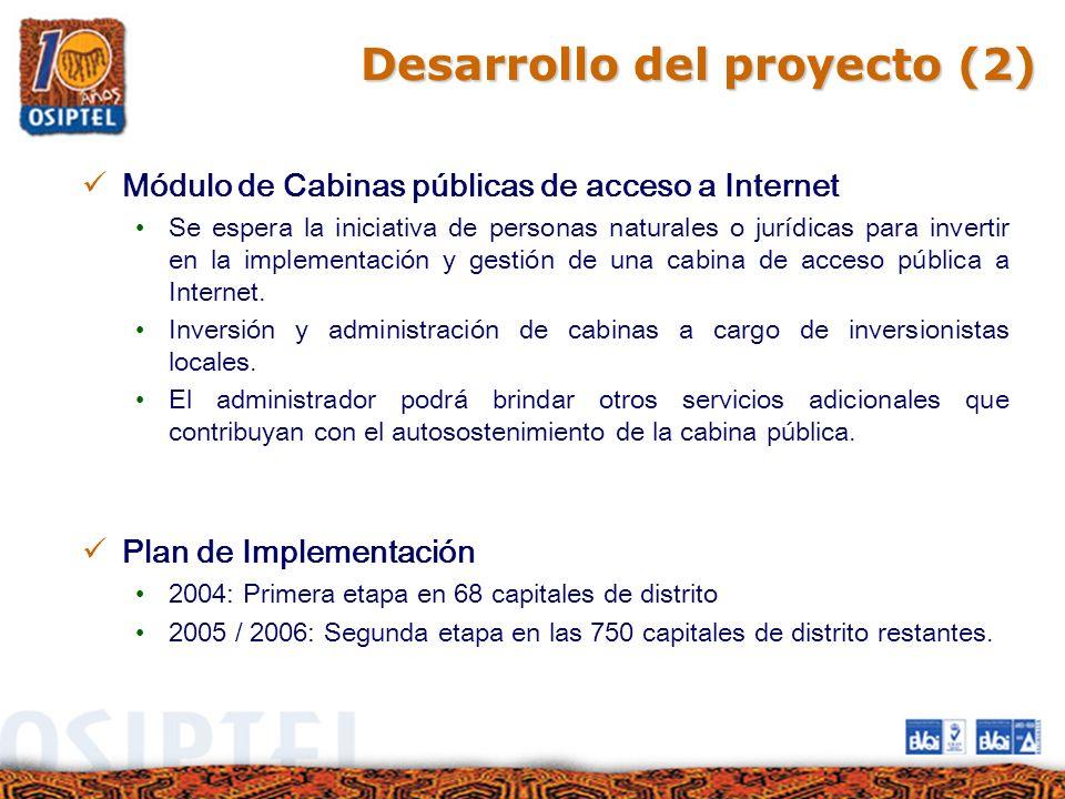 Desarrollo del proyecto (2)