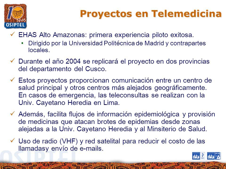 Proyectos en Telemedicina