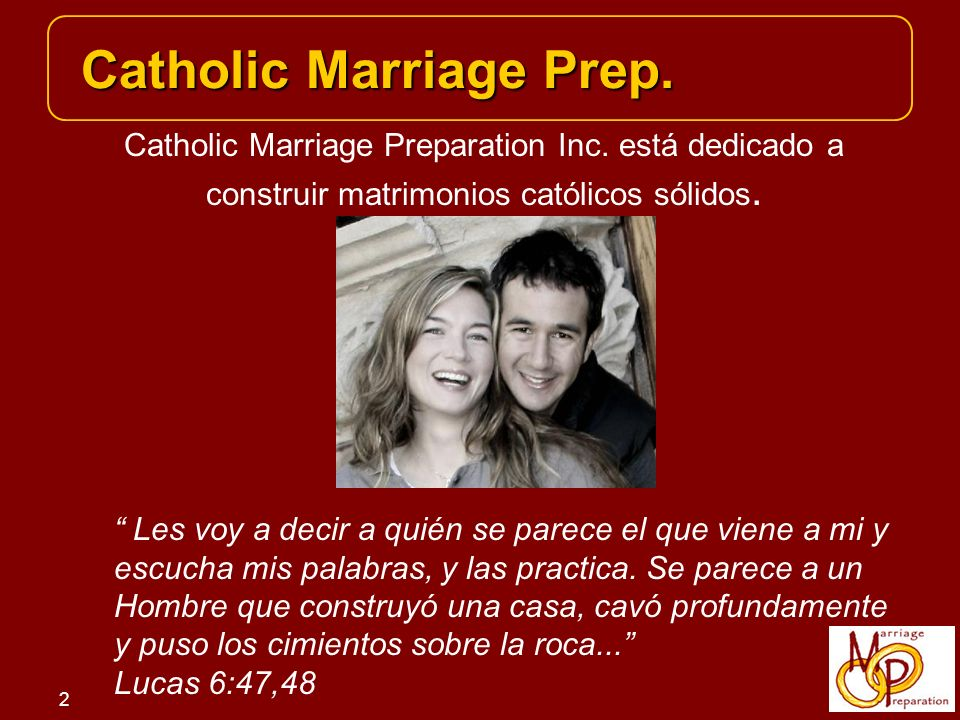 Catholic Marriage Prep.