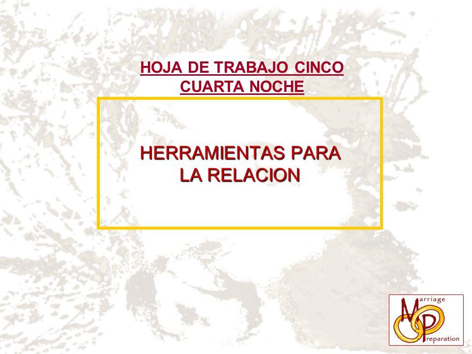 HERRAMIENTAS PARA LA RELACION