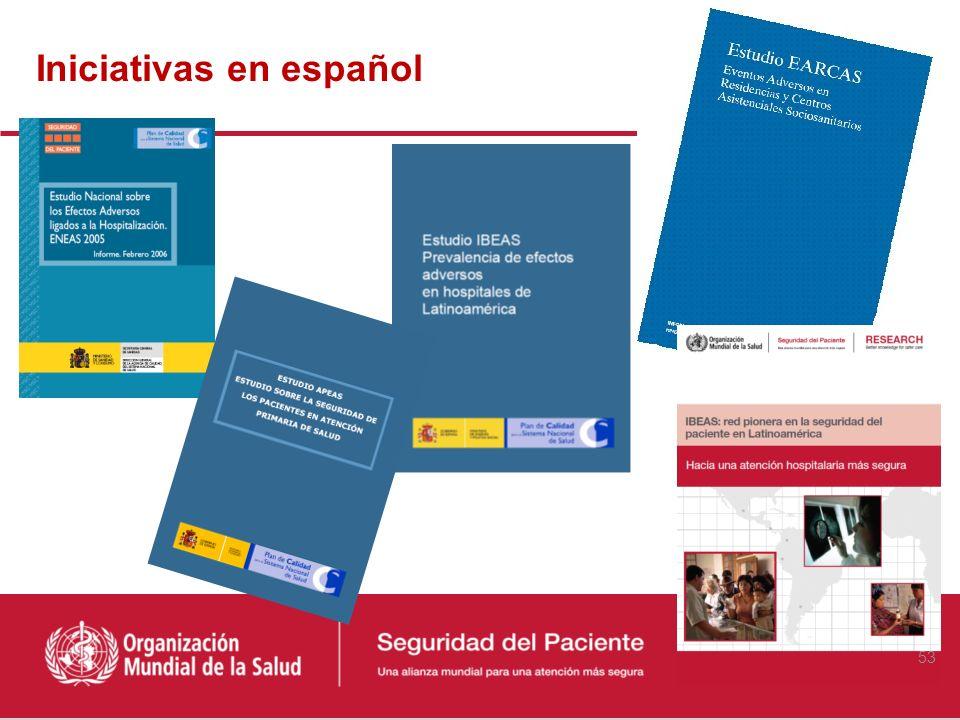 Iniciativas en español