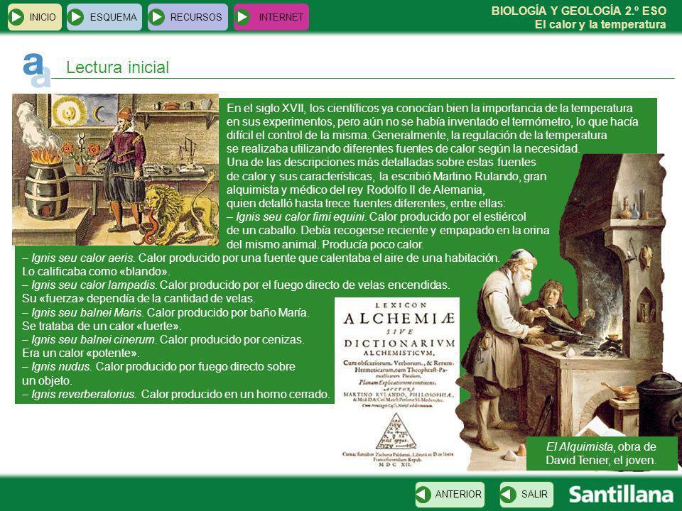 El Alquimista, obra de David Tenier, el joven.