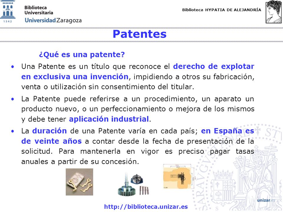 Patentes ¿Qué es una patente