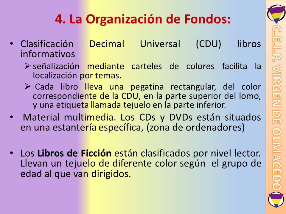 4. La Organización de Fondos:
