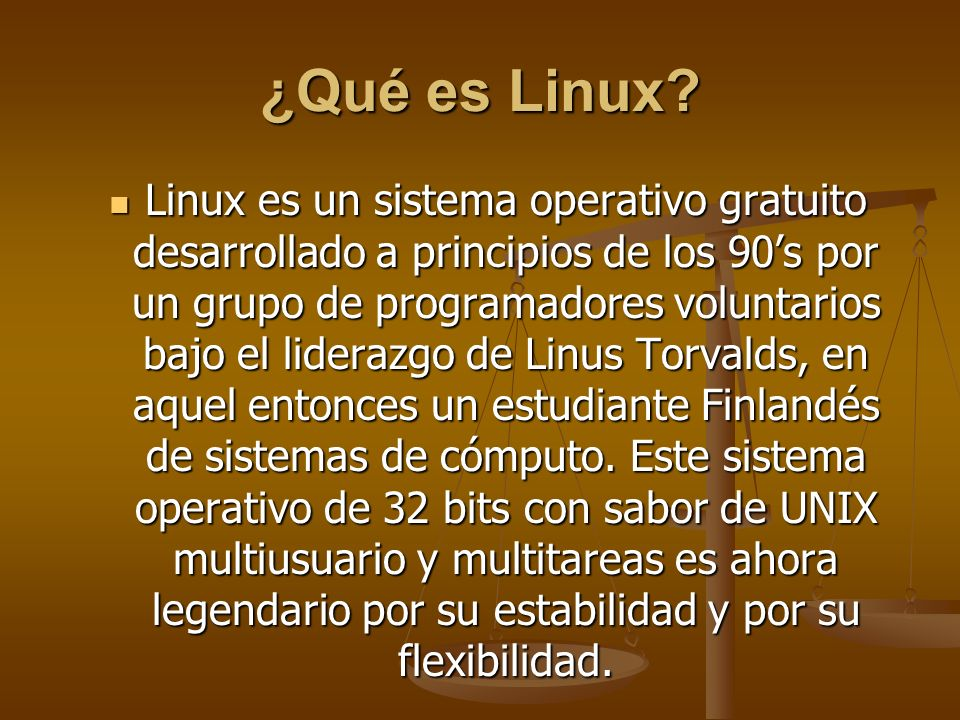 ¿Qué es Linux
