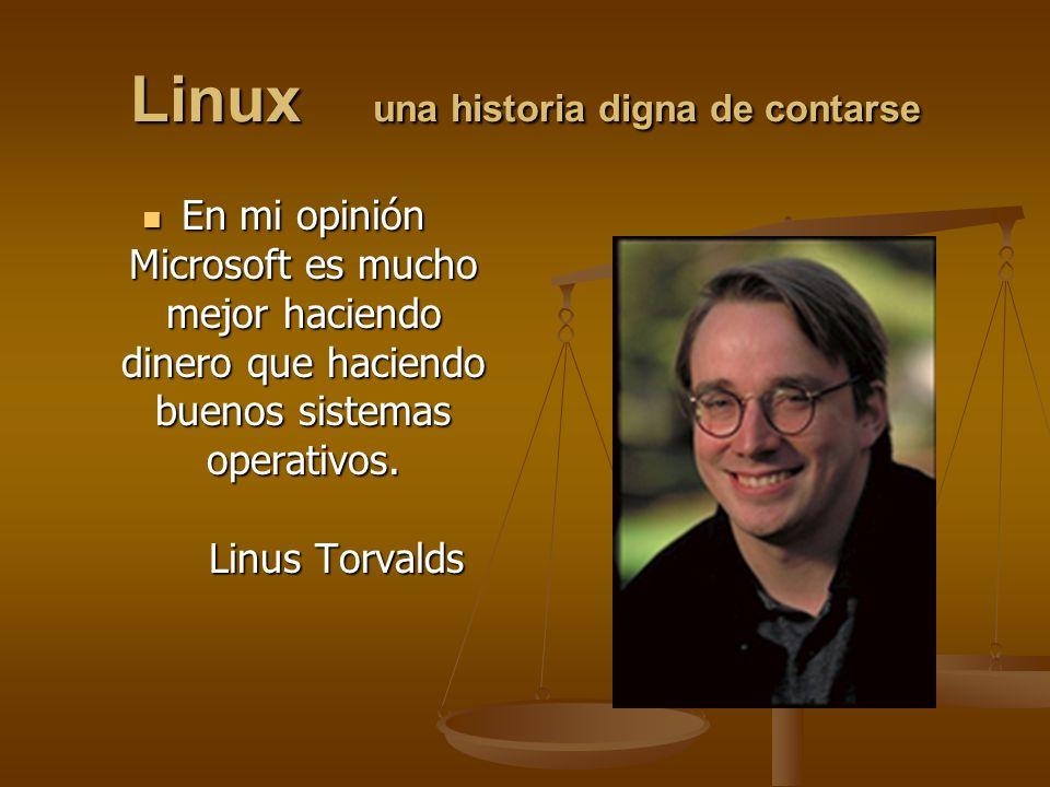Linux una historia digna de contarse