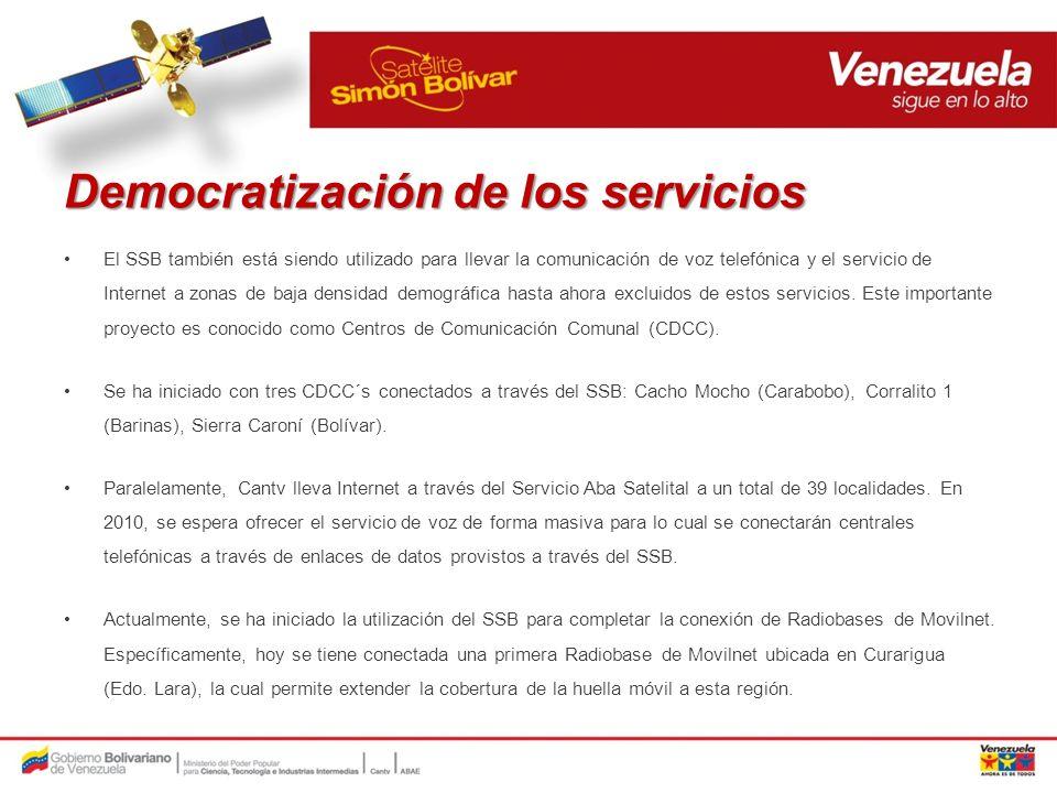 Democratización de los servicios