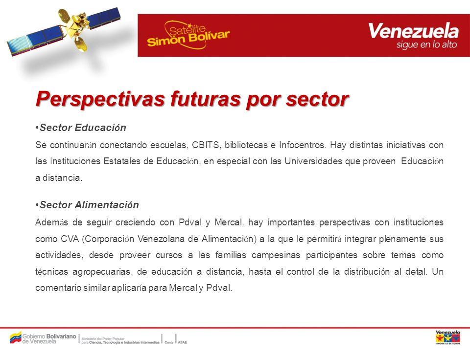 Perspectivas futuras por sector