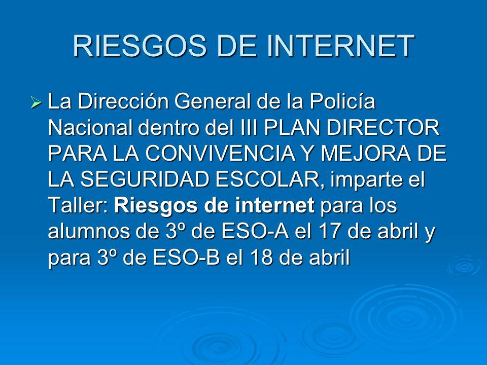 RIESGOS DE INTERNET