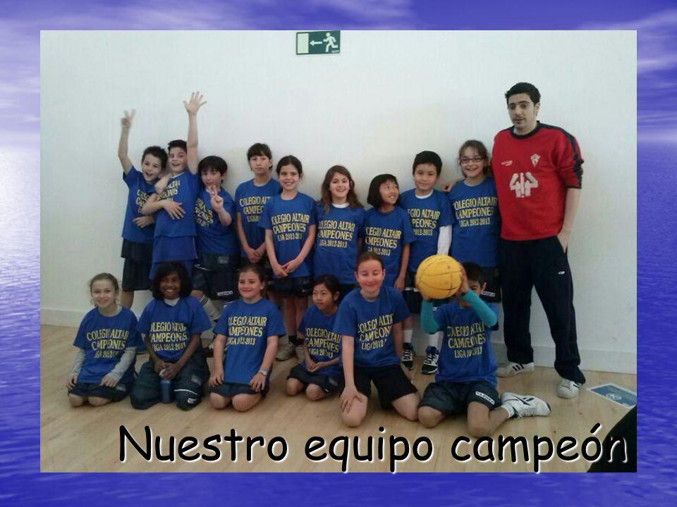 Nuestro equipo campeón
