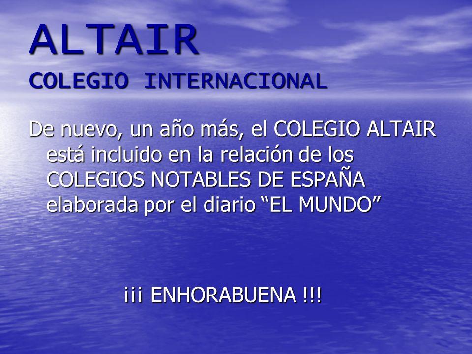 ALTAIR COLEGIO INTERNACIONAL