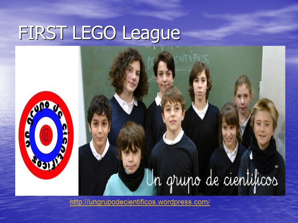 FIRST LEGO League http://ungrupodecientificos.wordpress.com/