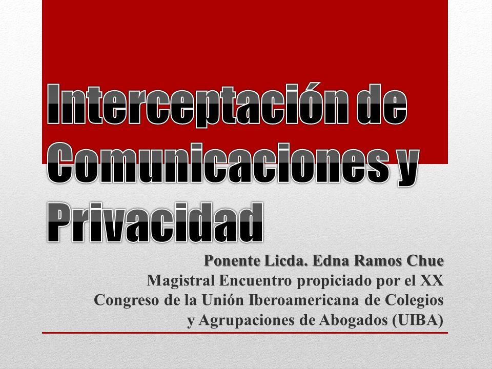 Interceptación de Comunicaciones y Privacidad
