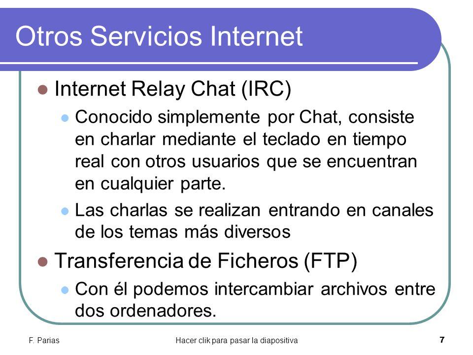 Otros Servicios Internet