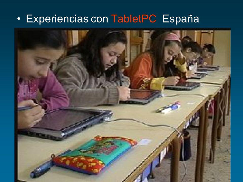 Experiencias con TabletPC España