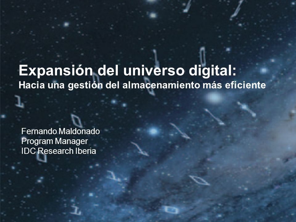 Expansión del universo digital: Hacia una gestión del almacenamiento más eficiente