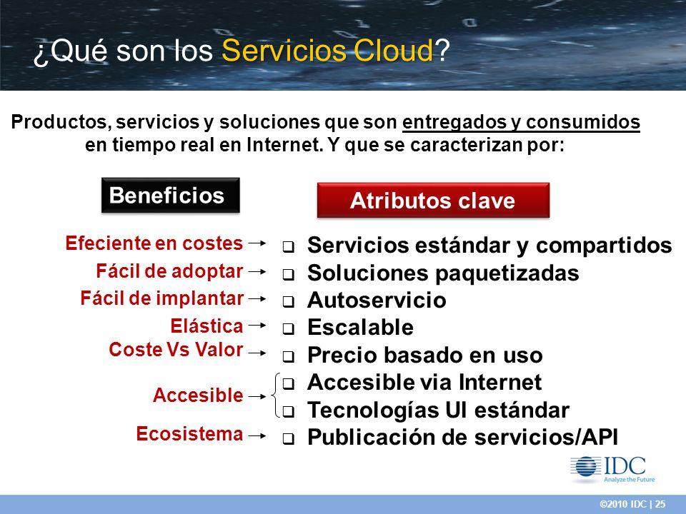 ¿Qué son los Servicios Cloud