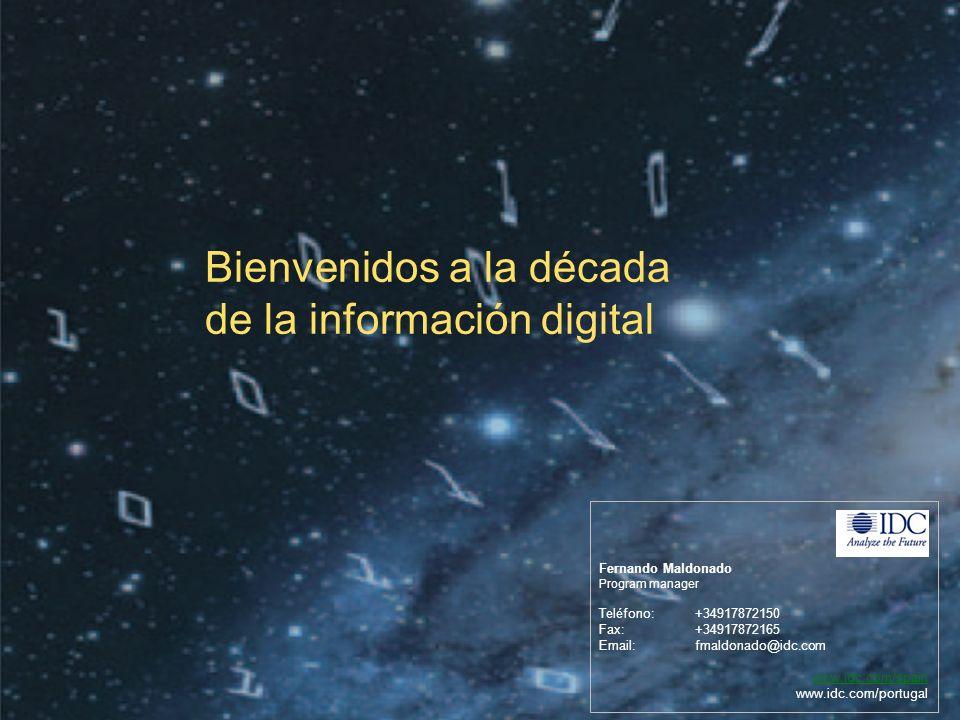 Bienvenidos a la década de la información digital