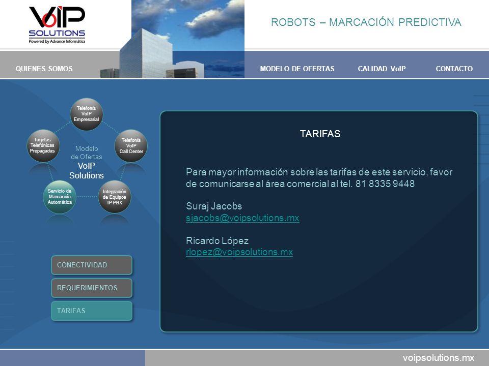 ROBOTS – MARCACIÓN PREDICTIVA