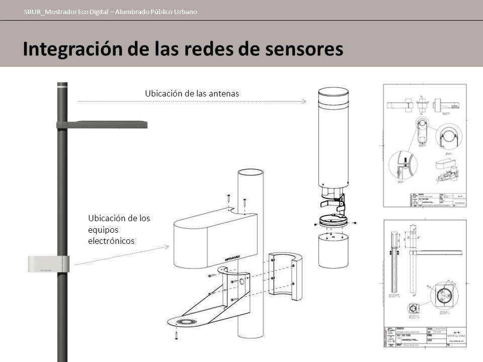Integración de las redes de sensores