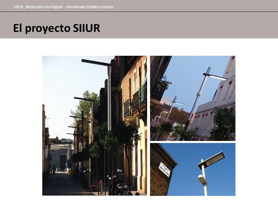 SIIUR_Mostrador Eco Digital – Alumbrado Público Urbano