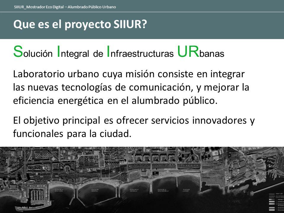 Solución Integral de Infraestructuras URbanas