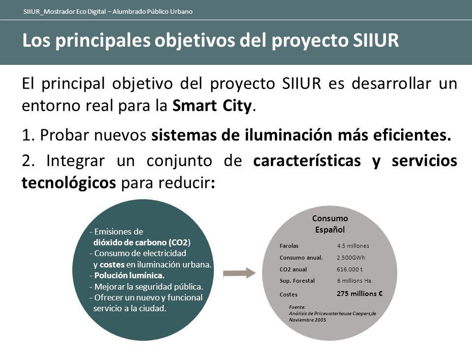 Los principales objetivos del proyecto SIIUR