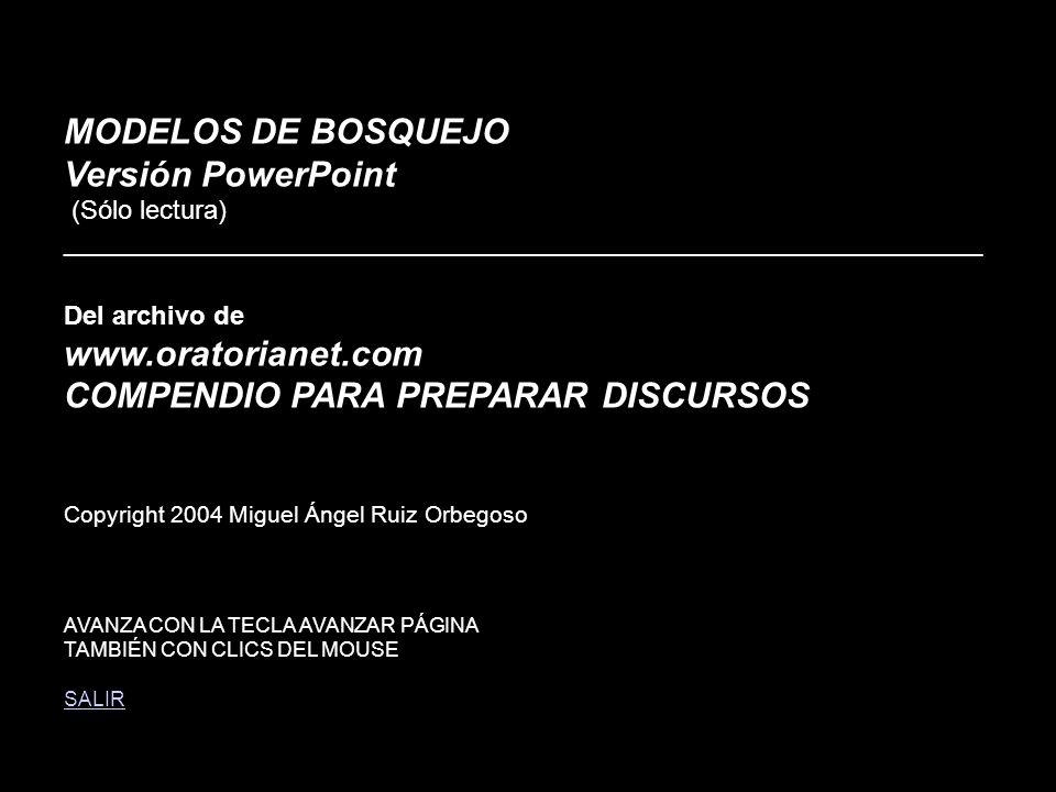 MODELOS DE BOSQUEJO Versión PowerPoint (Sólo lectura)